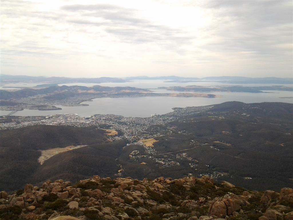 Mt Wellington View of Hobart